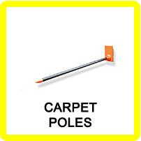 Forklift Carpet Poles