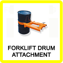 Forklift Drum Attachments