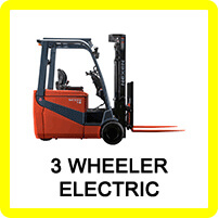 Three Wheeled Forklift