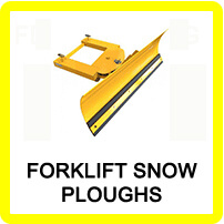 Forklift Snow Plough